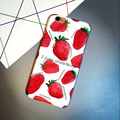 Cartoon Strawberry Pattern Mobile Phone Case for iPhone 7&iPhone 7Plus Phone Case Berry Cartoon Caqa Back Cover Coque IK2047-7