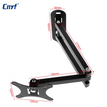 Universal TV Wall Mount Bracket Flat Panel TV Support 10 Degrees Tilt with Small Wrench for 10 - 26 Inch LCD LED Monitor