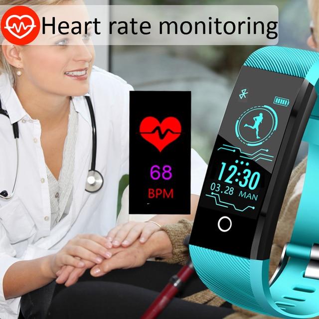 New Smart Watch For Men Women Blood Pressure Heart Rate Monitor Fitness Tracker 1