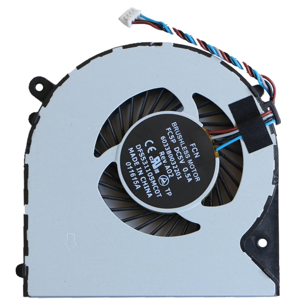 Neue Original Für Toshiba Satellite L950 L950D L955D S950 S955 S955D Cpu Lüfter DFS531105MC0T FC5P 6033B0032201