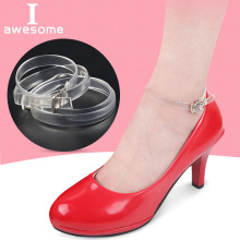 Invisible shoelaces 1 Pair High Quality Charm Women Convenient Silicone Detachable Shoes Belt Ankle Shoe Tie Lady Strap Band charm women creative design convenient leather shoes belt ankle shoe tie lady strap lace band for holding loose high heels