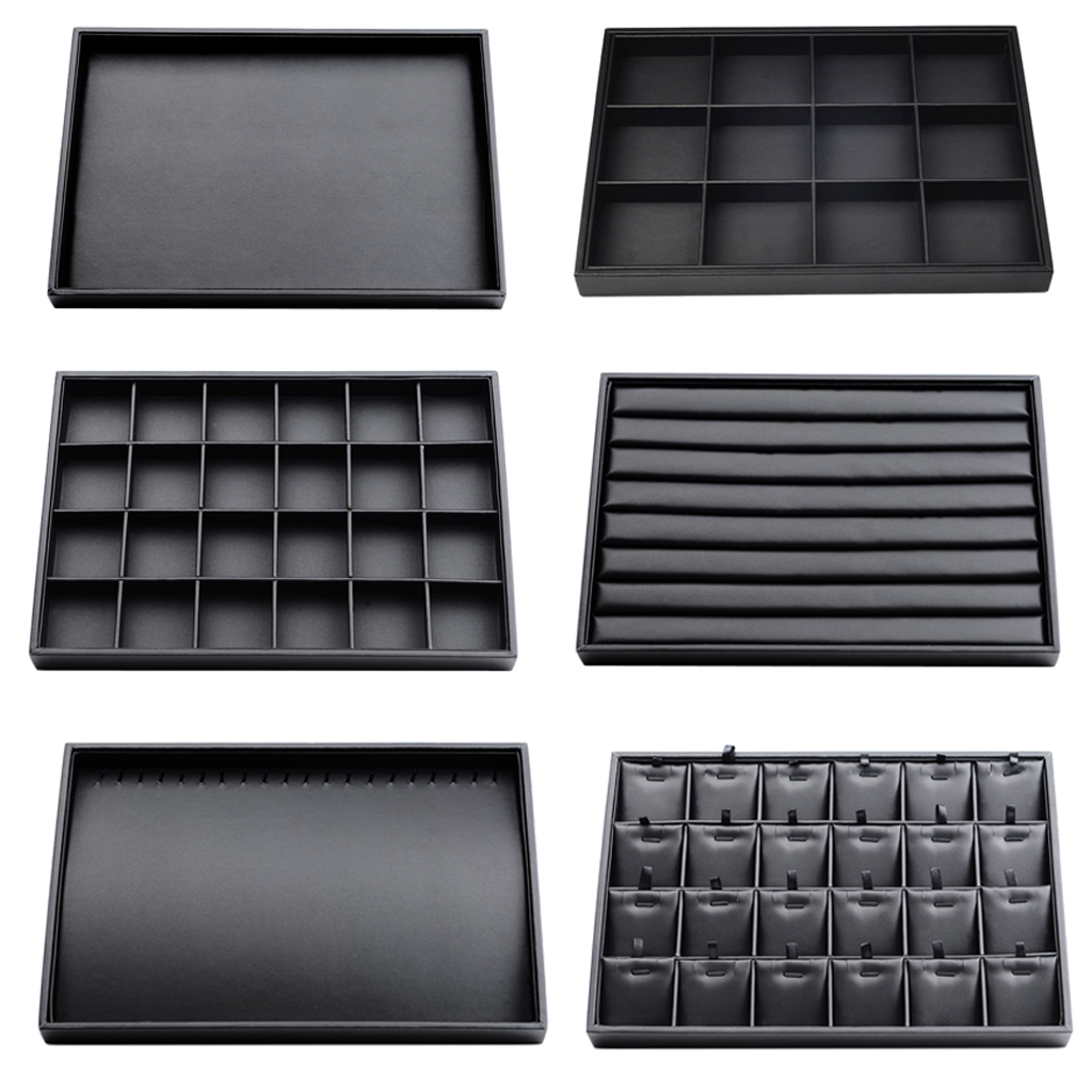 Multifunction Jewelry Tray Showcase Jewelry Display Organizer Stores Jewelry Display For Necklace Earrings Brooches Bracelet