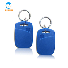 13.56MHz ABS RFID keyfobs keychains keytags for access control and time attendance system rfid key tags YJ01ABS IC