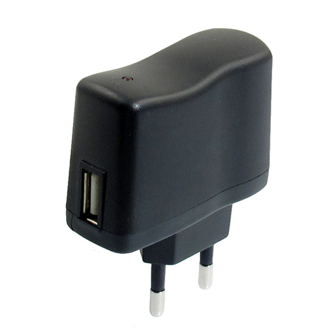 AC 110V-240V to DC 5V 0.5A 500mA USB to EU Plug Power Adapter Charger зарядное устройство для mp3 mp4 плеера brand new ac100 240v usb ac dc 5v wifi cha 029