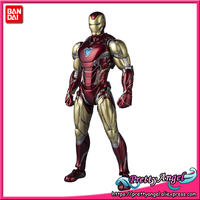 PrettyAngel Genuine BANDAI SPIRITS S.H.Figuarts SHF Iron Man Mark 85 MK 85 Action Figure