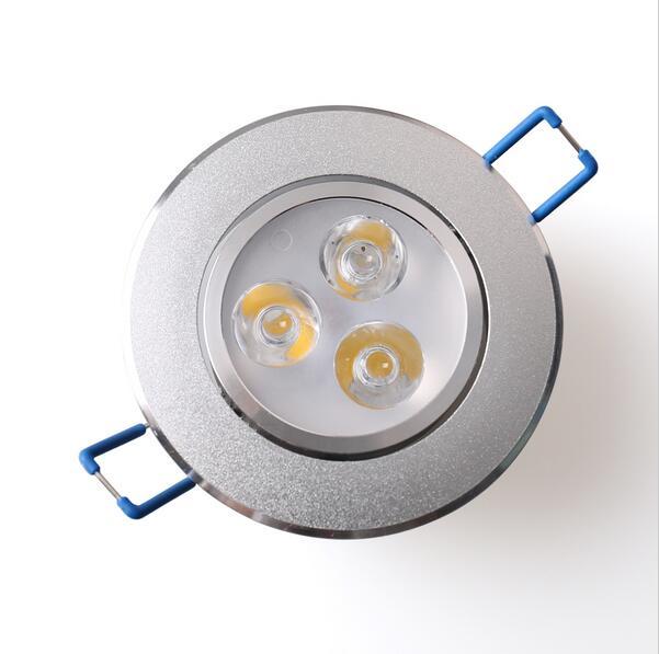 9 Вт 3x3 Вт AC100-245V светодиодные светильники встраиваемые свет Нет затемнения холодный белый теплый белый светодиодные лампы для главная Decration ...