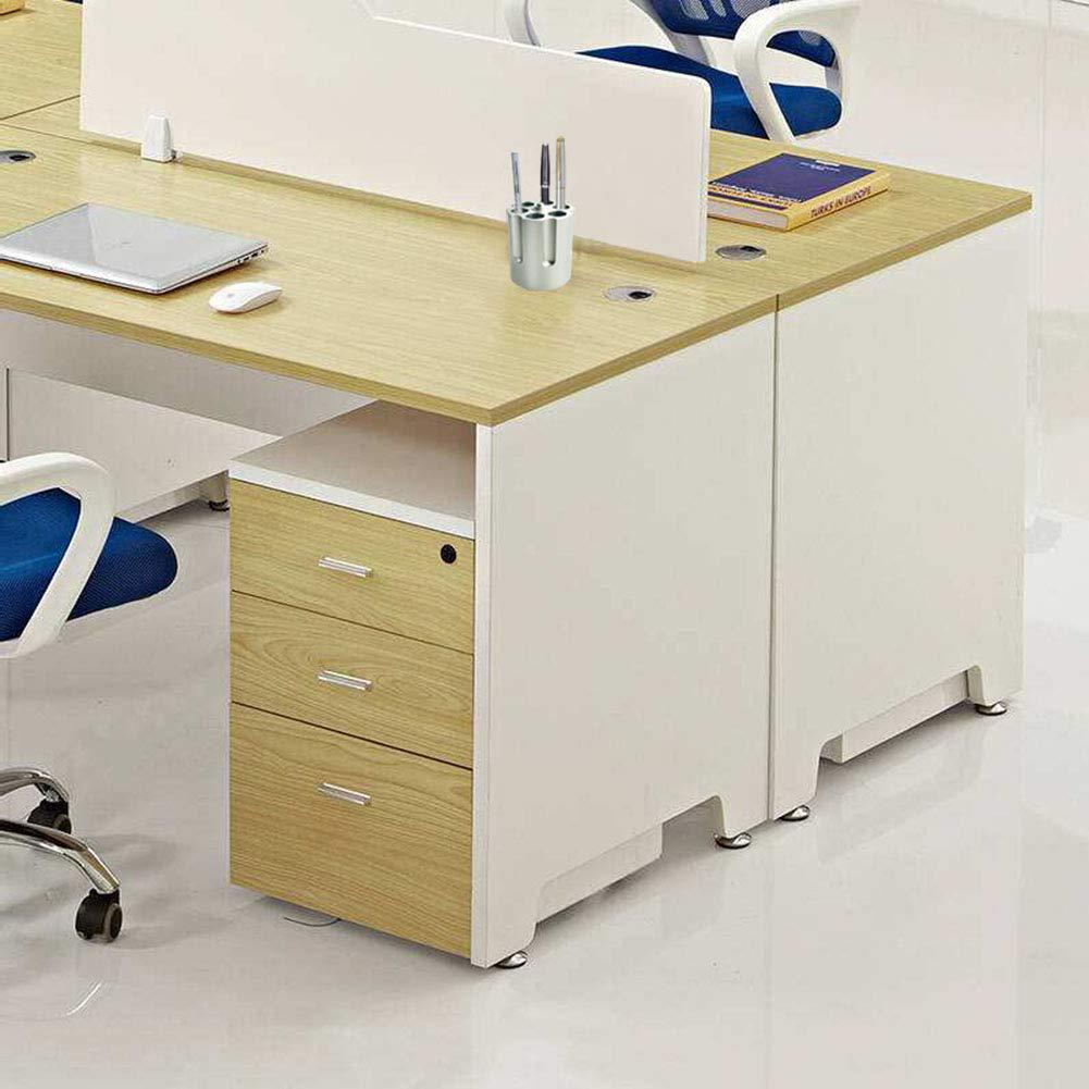 New Office Organizer Desktop Pen Storage Box Pencil Brush Pot Pen Holder Makeup Brush Plastic Container Home Office