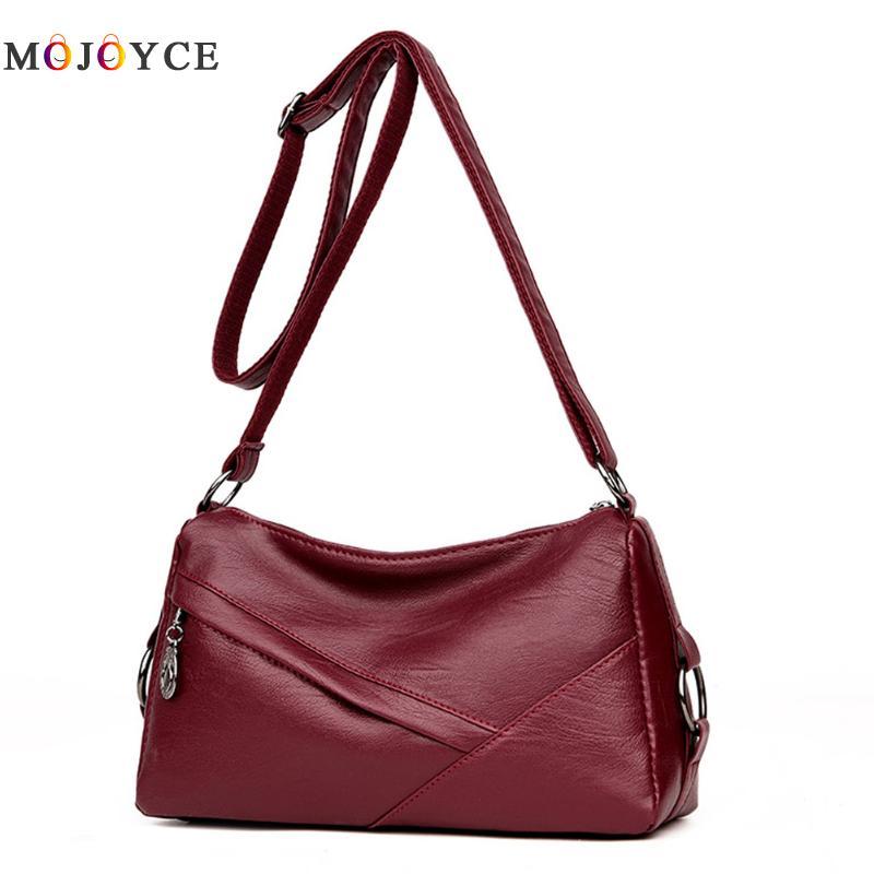 Luxury Handbags Women Bags Designer Elegant Office Ladies PU Leather Shoulder Bag Vintage Female Bolsa Feminina 1