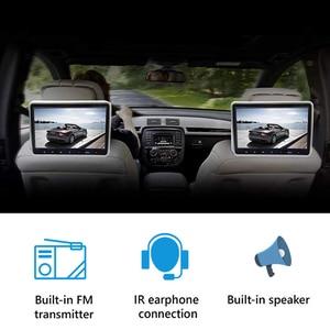 Image 4 - 1/2 Stuks 10.1 Inch Auto Hoofdsteun Monitor Dvd Video Speler Usb/Sd/Hdmi/Ir/ fm Tft Lcd scherm Touch Button Game Afstandsbediening Stereo