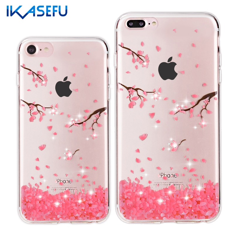 For iPhone 7 Case Luxury Bling Crystal Cover for iPhone 7 ...