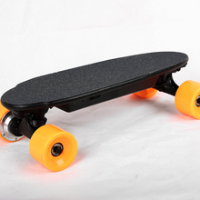 Самый маленький Электрический скейтборд с пультом дистанционного управления E скейтборд взрослый скутер комплект моторизованный концентратор Смарт скейт доска один мотор