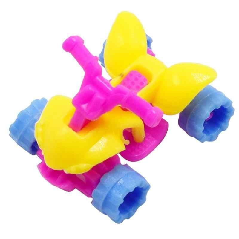 Gemonteerd Strand Motorfiets Speelgoed DIY 4 Wiel Motor Model Auto Speelgoed Kinderen Gift Geassembleerd Speelgoed Kinderen Auto