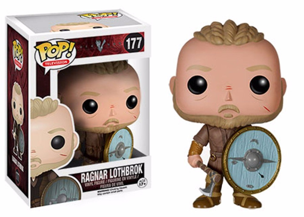 Image 2 - Funko pop Vikings 178# LAGERTHA 177# RAGNAR LOTHBROK Figure Decoration High Quality Handmade Collection Figure New Gift for Men-in Action & Toy Figures from Toys & Hobbies
