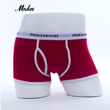 95% Cotton Breathable Underwear Men Calvn Boxer Pour Homme Sexy Panties Sheer Boxer Shorts XXL Klein Underwear Men Trunks