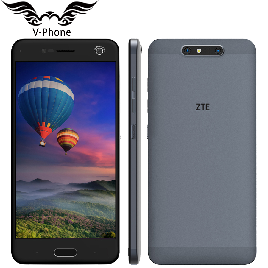 Original ZTE Blade V8 4G Mobile Phone 4GB RAM 64GB ROM Snapdragon435 Octa Core 5 2