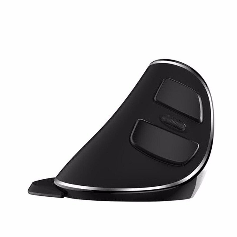 Delux M618 Plus souris verticale sans fil souris optique ergonomique 1600 DPI pour ordinateur portable bureau Gaming