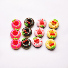 DIY Scrapbooking Phone Case Decorative Craft 30pcs Cute Miniature Artificial Fake Food Resin Cabochons