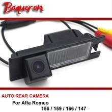 Car Camera For Alfa Romeo 156 / 159 / 166 / 147 Waterproof Reversing Reverse Camera rear view camera HD CCD Night Vision