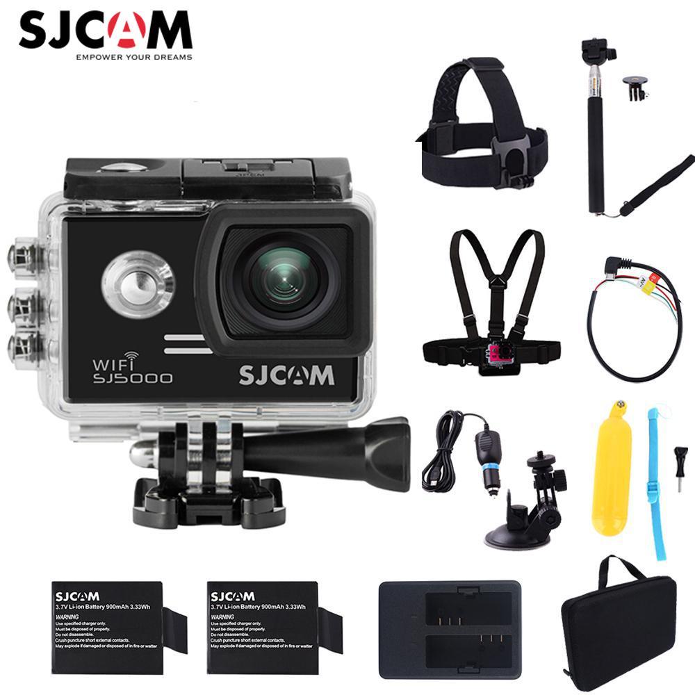 100% Originale SJCAM SJ5000 WiFi Novatek96655 14MP Diving 30 M Impermeabile Mini Sport Action Camera Sj 5000 Wifi Car Cam DVR