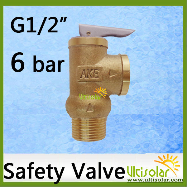 6Bar Opening Pressure Relief Valve YA-15 1/2 AKE 0.6Mpa Sentrol Tech Pressure Safety Valve 10bar opening pressure safety valve ya 20 3 4 ake 1mpa ultifittings com