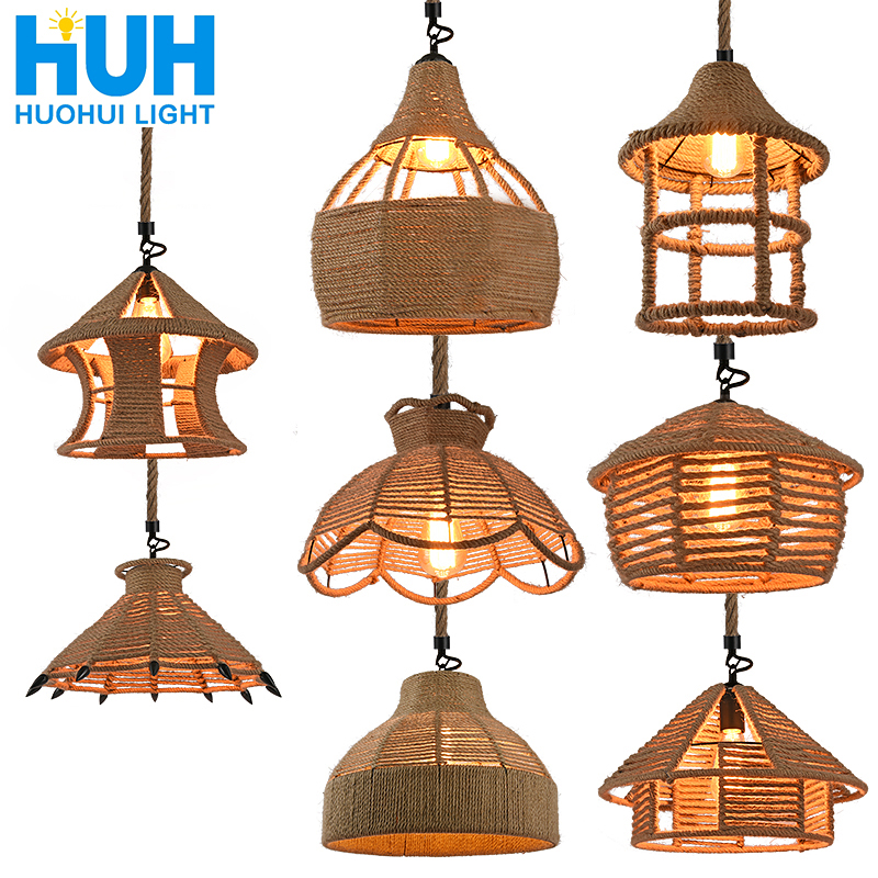 ̀ •́ New! Perfect quality american rural iron lamp and get free