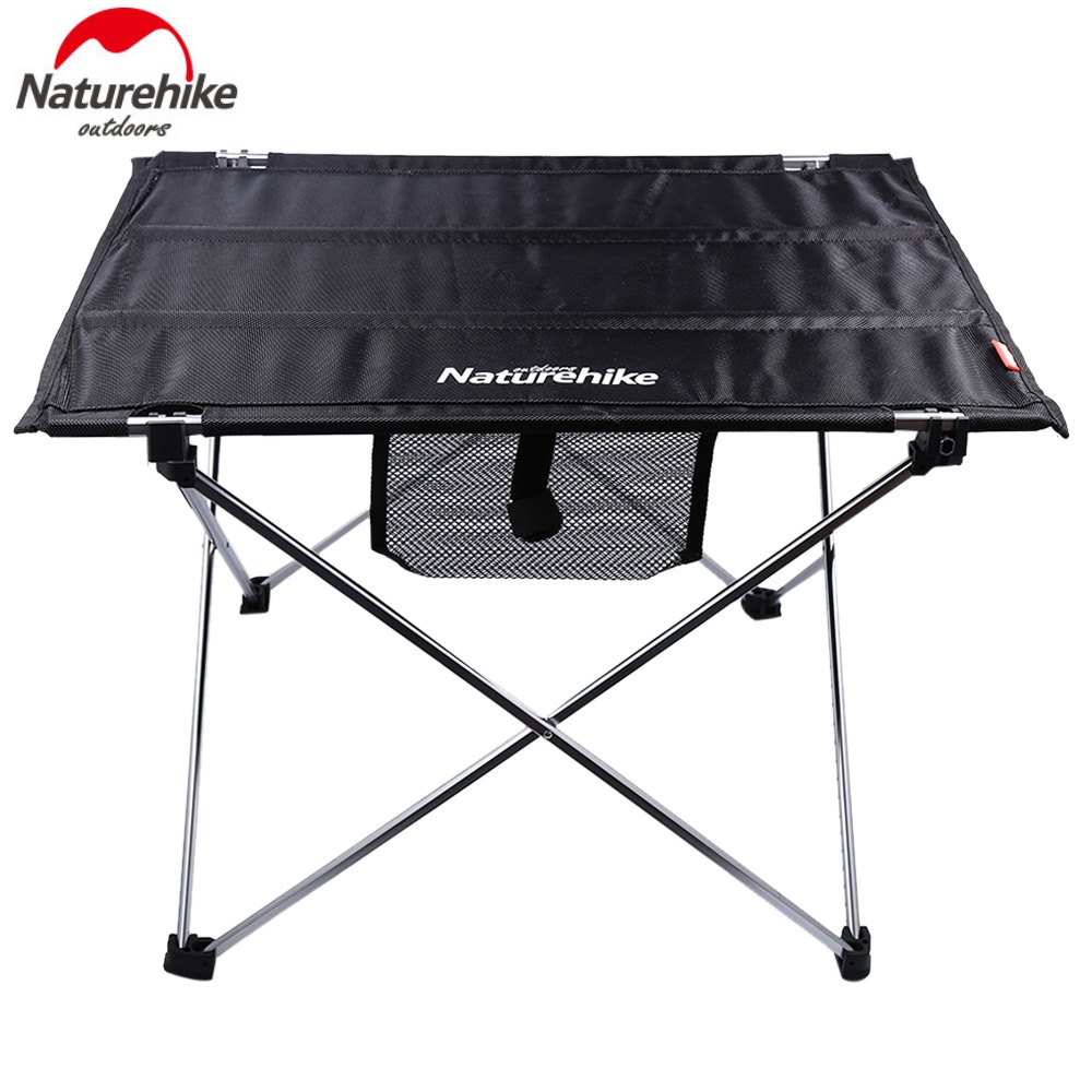 Folding camp table and chairs - Camp Table Portable Foldable Home Furniture Camping Beach Aluminium Alloy Free Shipping Garden Trip Picnic Fishing