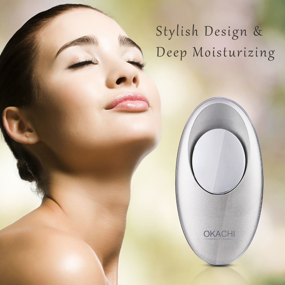Portable Hydrogen Water Facial Mist Spray Deep Moisturizing and Hydrating Cleaning Pores Skin Care Tool Water