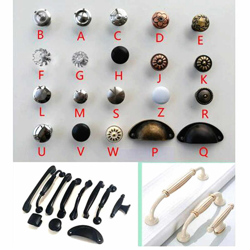 variety style Stainless steel Door Drawer Cabinet Wardrobe Pull Handle Knobs furniture Hardware handle Wholesale free shipping