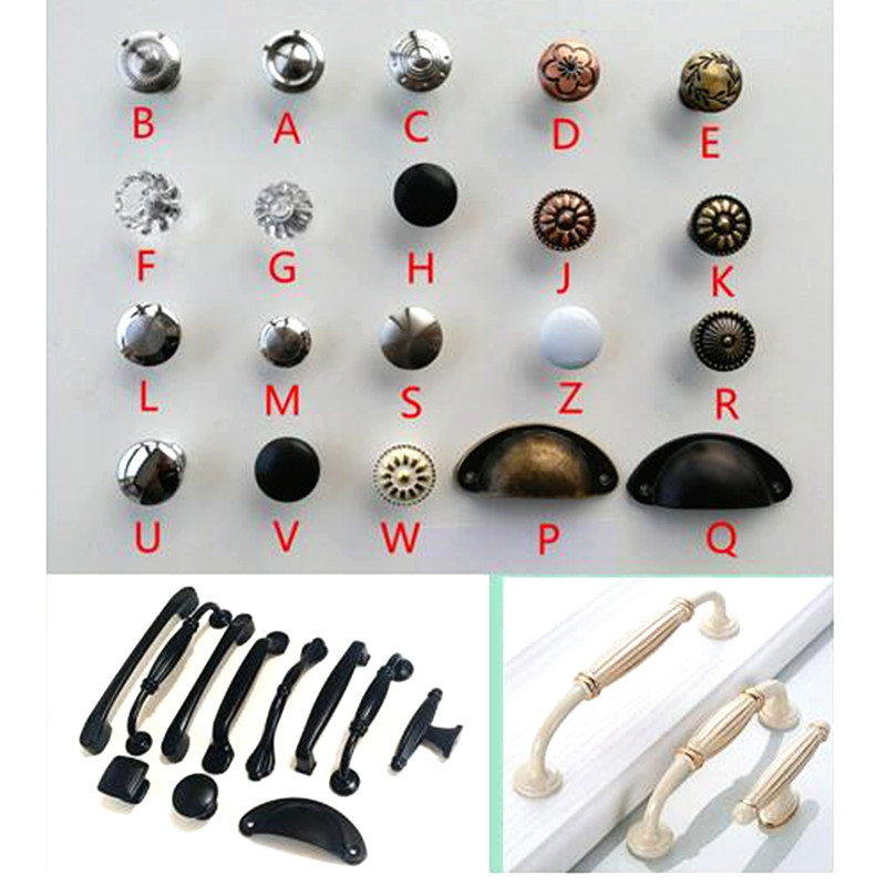 Mixed Set of Vintage Style Ceramic Cupboard Knobs x Pack 12 Mango Tree TM Registered Product MG-250