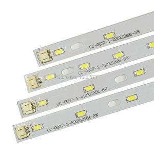 5730SMD LED Leuchtstoffröhre Panel, 3 Watt 6 Watt 8 Watt LED Streifen Lampe Platte 100-110LM/W Super Helligkeit Mit kabelstecker