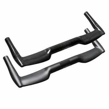 TEMANI Carbon Fiber 25.4/31.8mm Bicycle Handlebar Racing Triathlon Bullhorn Road Bike Bent Handlebar 380/400/420/440/460mm
