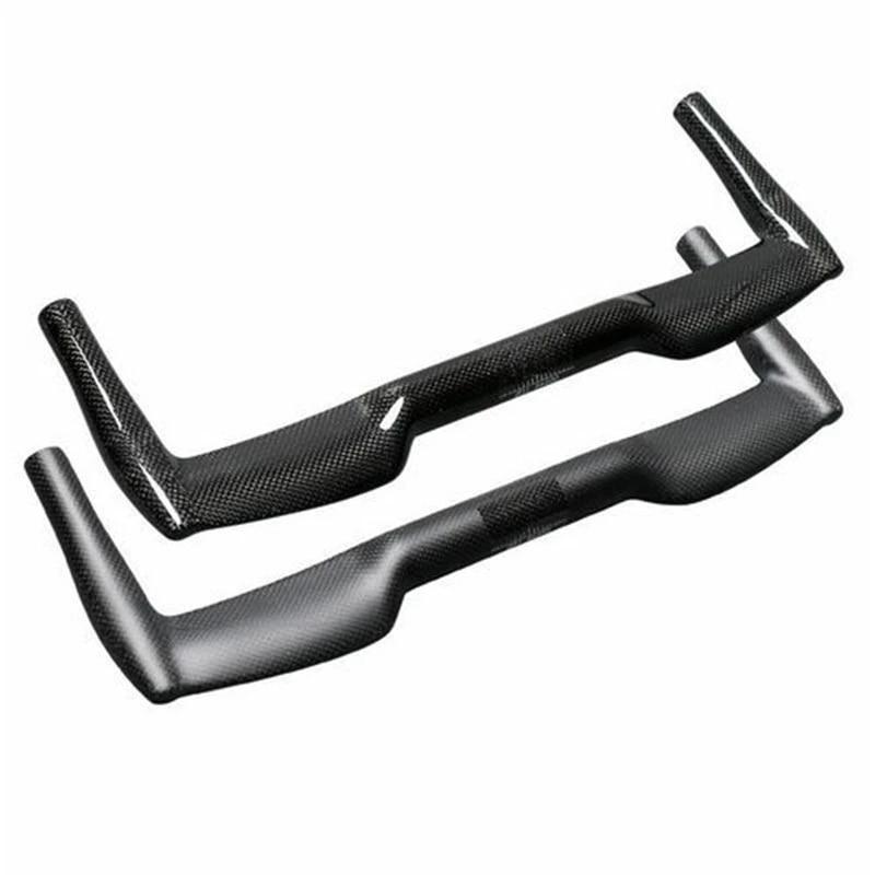 Bicycle Riser Bar 25.4//31.8mm Folding Bike MTB 3K Full Carbon Fiber Handlebars