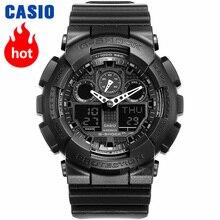 Casio horloge heren G SHOCK top luxe set LED militair Chronograaf relogio digitaal polshorloge Waterdicht quartz heren klok duiksport Schokbestendig Antimagnetisch horloge g shock 3D wijzerplaatstructuur herenhorloge