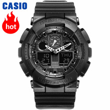 Casio watches multi-function electronic outdoor sports waterproof men's watches GA-100-1A1 GA-100-1A4 все цены