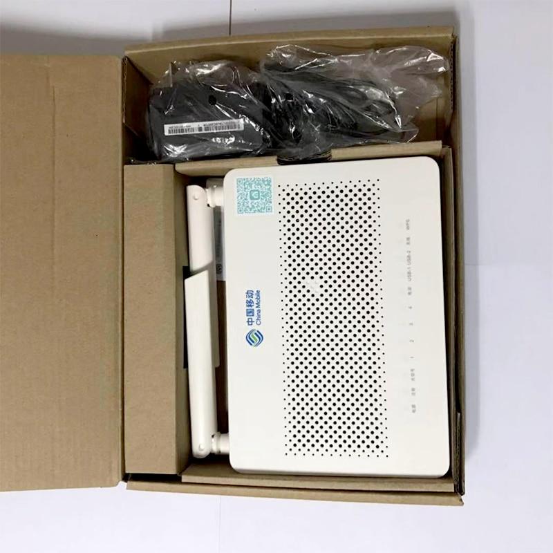 US $36 0 |Huawei GPON ONU FTTH HS8546V5 GPON ONT Router 4GE+1TEL+2USB+Wifi  Mini Size English firmware for Huawei MA5608T/MA5683T -in Fiber Optic
