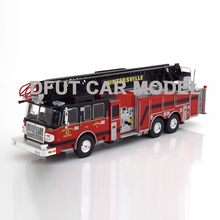 Игрушечный автомобиль из 1:43 сплава Smeal 105 модель пожарной машины Детские Игрушечные Машинки оригинальные авторизованные подлинные детские игрушки
