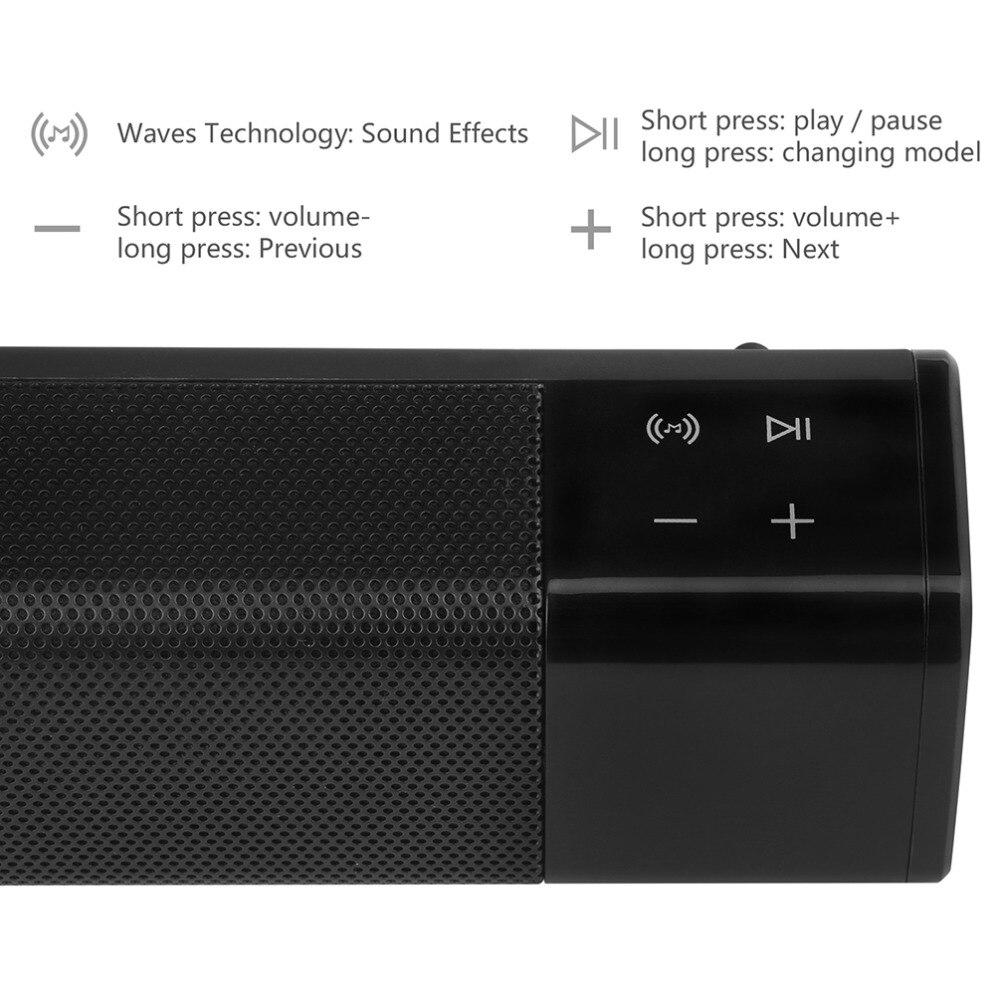 Forte basse SL-1000 Bluetooth 4.1 Haut-parleur sans fil Lecteur de - Audio et vidéo portable - Photo 4
