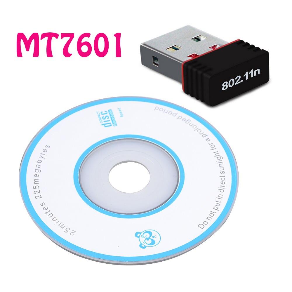 MT7601 мини usb-адаптер Wi-Fi 802.11n/g/b Wi Fi Антенна 150 Мбит Беспроводной LAN сетевой карты External USB Wi-Fi для рабочего ноутбука