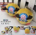Free shipping anime 10pcs one piece Chopper plush toy with keychain tall 7cm.10pcs high quality plush doll supply