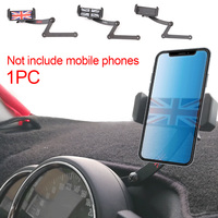 Easy Install Stable Fashion Stand Folding Durable Non Slip Clip ABS Car Mount Rotatable Phone Holder For Mini Cooper R55 R56
