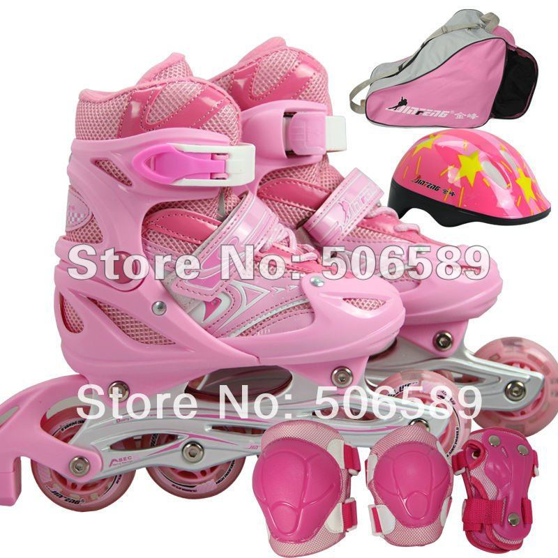 flashing roller skates for kids free shipping 3 colors good quality free shipping 138D Jinfeng size adjustable children roller sneaker with one wheel led lighted flashing roller skates kids boy girl shoes zapatillas con ruedas