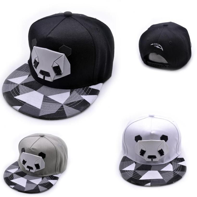desire #50 Womens Sports Baseball Panda Cap Snapback Golf ball Hip-Hop Hat