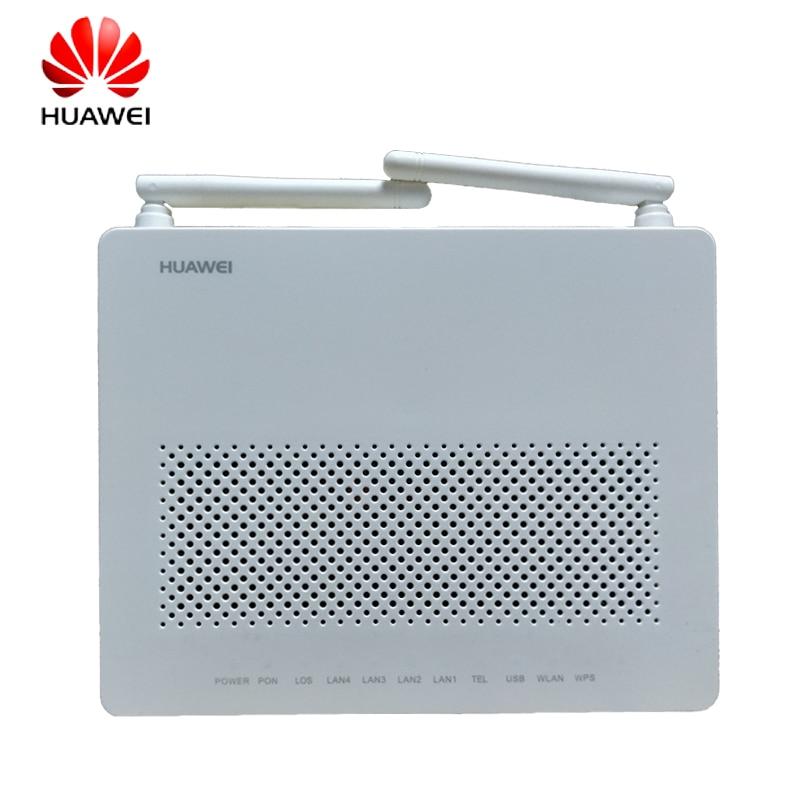 Communication Equipments Fiber Optic Equipments 5pcs New Original Onu Ont Termianl Epon Hg8347r Hs8145c Port 1ge+3fe+tel+wifi English Version Compatible With Hua Wei Olt