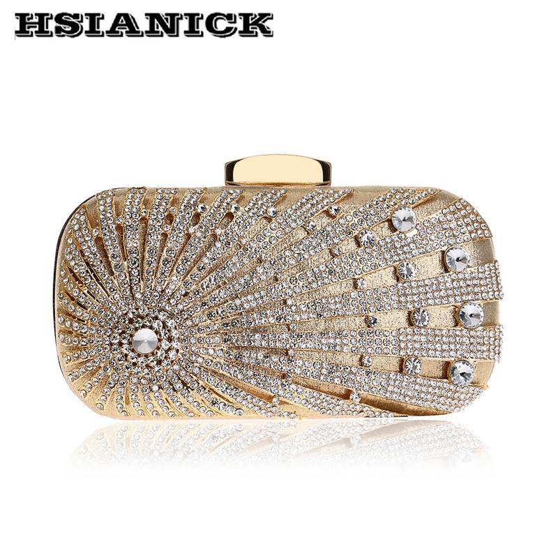 2018 Women New Fashion High Grade Luxury Europe and America Diamond Dinner Bag Lady Dress Bag Evening Handbag Party Clutch Bag high tech and fashion electric product shell plastic mold