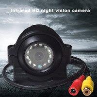 Universa 10lwaterproof 12 אור אינפרא אדום HD ראיית הלילה לרכב סיוע חניה היפוך צד/מבט אחורי מצלמה Rotatable
