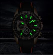 2019New LIGE Silicone Strap Men Watches Fashion Top Brand luxury Business Luminous Quartz Watch Men Casual Waterproof Date Clock