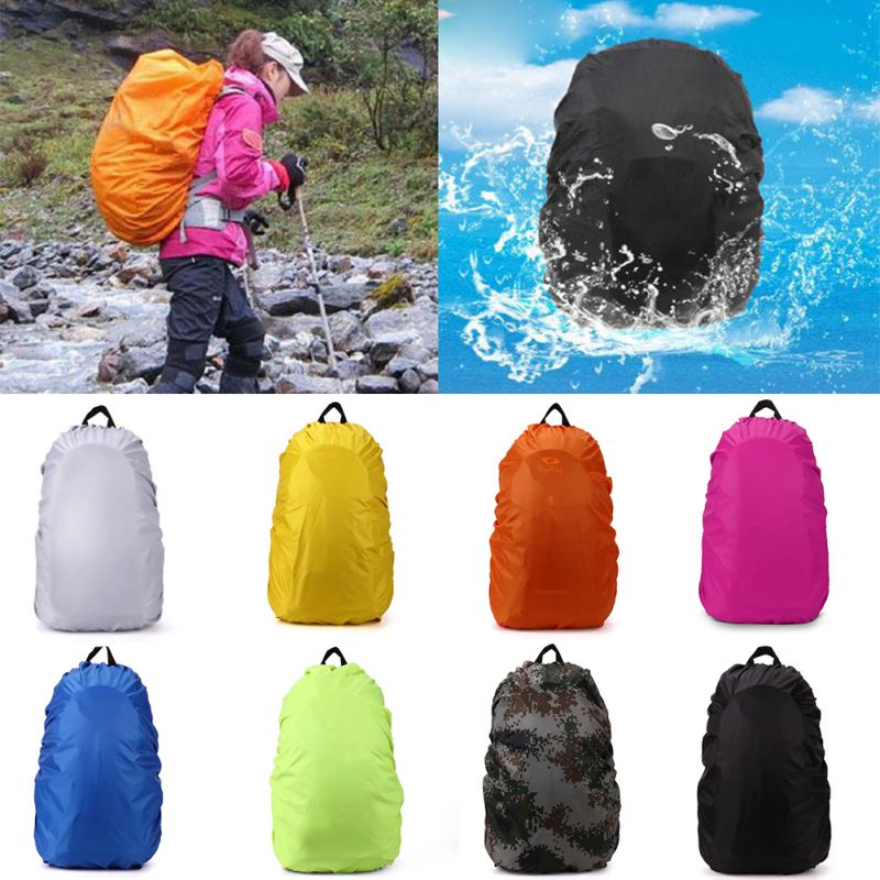 45L Convenient Waterproof Dust Rain Cover For Travel Camping Hiking Backpack Rucksack Bag