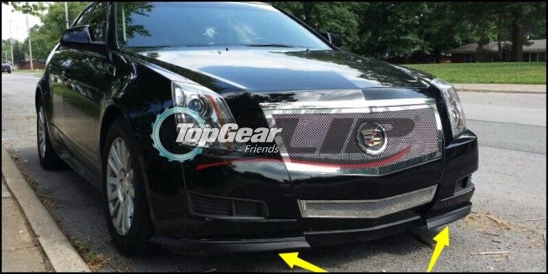 Bumper Lip Deflector Lips For Cadillac Cts Cts V 2002 2015 Front