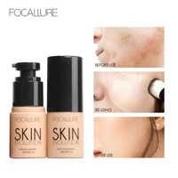 Focallure rosto fundação líquido controle de óleo hidratante cobertura completa corretivo matte primer base creme fundação maquiagem