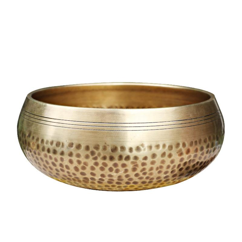 8inch Best Large Tibetan Mediation Singing bowls with Cushion and Leather striker
